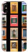 The Windows Of Venice IPhone Case