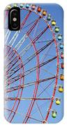 The Wonder Wheel At Odaiba IPhone Case