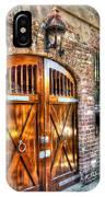 The Wooden Doorway IPhone Case