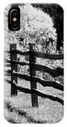 The Wooden Fence IPhone Case