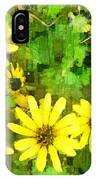 The Yellow Daisies  IPhone Case