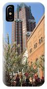 Theater District And City Flowers IPhone Case