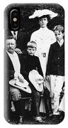 Theodore Roosevelt Family IPhone Case