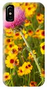 Thistle And Coreopsis 2am-110455 IPhone Case