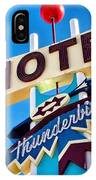 Thunderbird Motel Sign IPhone Case