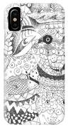 Tick Tack Toe With The Universe IPhone Case