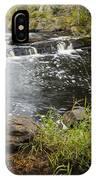 Tidga Creek Falls 2 IPhone Case