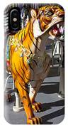 Tiger Carousel Ride IPhone Case