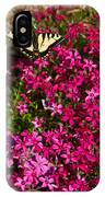 Tiger In The Phlox 6 IPhone Case
