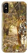 Tiger In The Undergrowth At Ranthambore IPhone Case