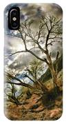 Tilted Trees IPhone Case