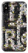Tim Burton Poster Collection Mosaic IPhone Case