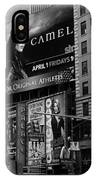 Times Square Black And White IPhone Case