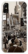 Times Square New York S IPhone Case