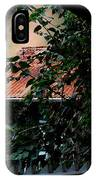 Tin Roof And Vines IPhone Case