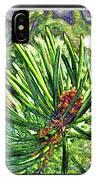 Tiny New Pine Cones IPhone Case