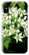 Tiny White Flowers IPhone Case