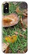 Toadstools Blending In IPhone Case