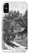 Toll Gate, 1879 IPhone Case