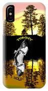 Amber Lake #3 IPhone Case
