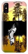 Amber Lake #4 IPhone Case