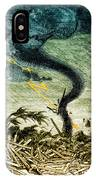 Tornado, 19th Century IPhone Case