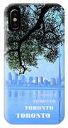 Toronto Harbour Poster IPhone Case