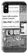 Toronto Streets IPhone Case