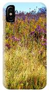 Touch Of Purple In October IPhone Case