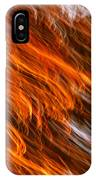 Touched By Fire IPhone Case