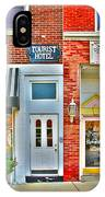 Tourist Hotel-downtown Perrysburg IPhone Case