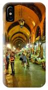 Tourists At The Grand Bazaar IPhone Case
