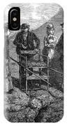 Tourists At Vesuvius, 1872 IPhone Case