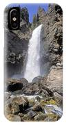 Tower Fall Of Yellowstone IPhone Case