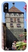 Tower In Old Town Rottweil Germany IPhone Case