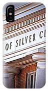 Town Of Silver City New Mexico IPhone Case