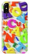 Toy Letters IPhone Case