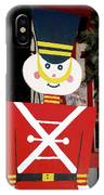 Toy Soldier Christmas In Virginia City IPhone Case