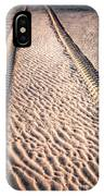 Tracks In The Sand IPhone Case