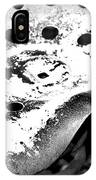Tractor Seat Close Up Black And White IPhone Case