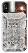 Traffic Control Box IPhone Case