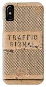 Traffic Signal  IPhone Case