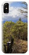 Trail At Cathedral Hills IPhone Case