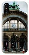 Train Station At Lucerne IPhone Case
