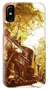 Trains A Coming IPhone Case