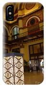 Trainstation Hotel Nashville IPhone Case