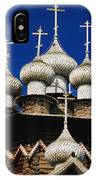 Transfiguration Cathedral On Kizhi IPhone Case