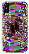 Trapped In The Vortex IPhone Case