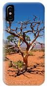 Tree At Cedar Ridge IPhone Case