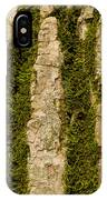 Tree Bark Mossy 4 C IPhone Case